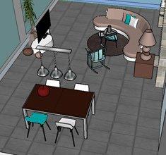 Projet 3D villa